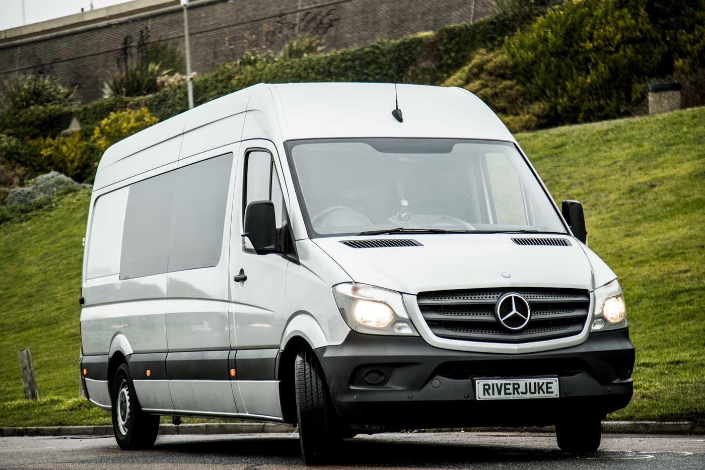 Splitter Van hire from Riverjuke